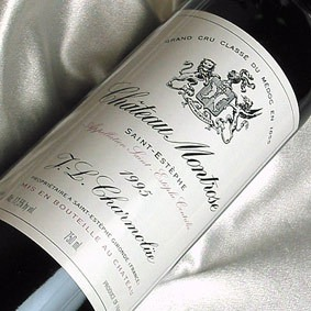 Chateau montrose 1995 adam paw owski master sommelier for Chateau montrose